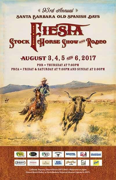 2017 Fiesta Rodeo Poster