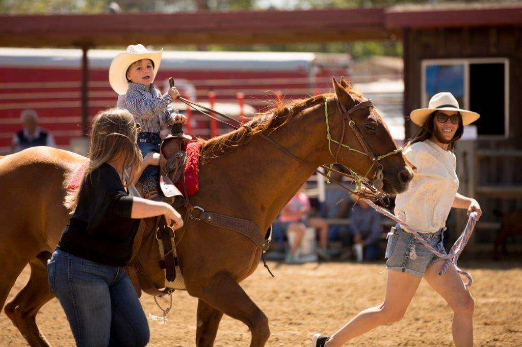 2018 Fiesta Rodeo Child Riding Horse